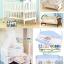 B10139(WD2) เตียงนอนไม้สีขาวครบเซ็ท thumbnail 3