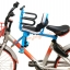 C10167 เก้าอี้นั่งเด็กสำหรับติดตั่งรถจักยานด้านหน้า ที่ก้ันสีดำแบบที่กั้นครี่งตัว โครงสีฟ้า thumbnail 4
