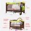 B10101 Playpen เตียงนอนเด็ก แบบน่ารัก สินค้าใหม่นำเข้าพร้อมชั้นวางที่เปลี่ยนผ้าอ้อม (A1สีชมพู) thumbnail 9