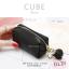 กระเป๋าสตางค์ ใส่เหรียญ รุ่น CUBE สีดำ thumbnail 1