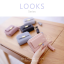 กระเป๋าสตางค์ผู้หญิง ใบสั้น รุ่น LOOKS สีฟ้า thumbnail 22