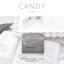 กระเป๋าสตางค์ผู้หญิง ใบสั้น รุ่น CANDY สีเทา thumbnail 1