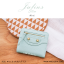 กระเป๋าสตางค์ผู้หญิง JULIUS Slim สีเขียวมิ้นท์ thumbnail 3