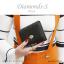 กระเป๋าสตางค์ผู้หญิง ใบสั้น รุ่น DIAMONDS-S สีฟ้า thumbnail 13