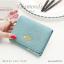 กระเป๋าสตางค์ผู้หญิง ใบสั้น รุ่น DIAMONDS-S สีฟ้า thumbnail 3
