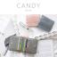 กระเป๋าสตางค์ผู้หญิง ใบสั้น รุ่น CANDY สีเทา thumbnail 6