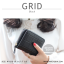 กระเป๋าสตางค์ผู้หญิง GRID สีดำ thumbnail 1