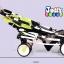 C10184 รถเข็นเด็ก ฺSeebaby ( cowy model) ลายจุดสัฟ้าขาว thumbnail 6
