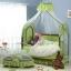 TB21012 เตียงนอนเด็ก (สไตล์ยุโรป) สีเขียว thumbnail 2