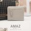 กระเป๋าสตางค์ผู้หญิง แบบบาง รุ่น AMAZ SlimII สีเทา thumbnail 3