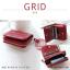 กระเป๋าสตางค์ผู้หญิง GRID สีเทาอ่อน thumbnail 10