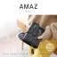 กระเป๋าสตางค์ผู้หญิง ขนาดกลาง รุ่น AMAZ สีเงิน thumbnail 9