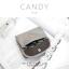 กระเป๋าสตางค์ผู้หญิง ใบสั้น รุ่น CANDY สีเทา thumbnail 3