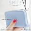 กระเป๋าใส่บัตร เอนกประสงค์ รุ่น SMILE ฟ้า thumbnail 3