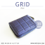 กระเป๋าสตางค์ผู้หญิง GRID สีดำ thumbnail 18