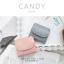 กระเป๋าสตางค์ผู้หญิง ใบสั้น รุ่น CANDY สีเทา thumbnail 8