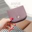 กระเป๋าสตางค์ผู้หญิง แบบบาง รุ่น ANNE สีเทา thumbnail 18