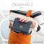 กระเป๋าสตางค์ผู้หญิง ใบสั้น รุ่น DIAMONDS-S สีฟ้า thumbnail 10