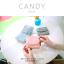 กระเป๋าสตางค์ผู้หญิง ใบสั้น รุ่น CANDY สีเทา thumbnail 9