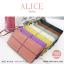 กระเป๋าสตางค์ผู้หญิง ทรงถุง กระเป๋าคลัทช์ สีเขียว รุ่น ALICE thumbnail 15