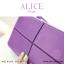 กระเป๋าสตางค์ผู้หญิง ทรงถุง กระเป๋าคลัทช์ สีเขียว รุ่น ALICE thumbnail 12
