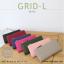 กระเป๋าสตางค์ผู้หญิง รุ่น GRID-L สีเทาอ่อน ใบยาว สองซิป thumbnail 17