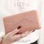 กระเป๋าสตางค์ผู้หญิง LIZE-L สีชมพู thumbnail 1