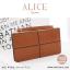 กระเป๋าสตางค์ผู้หญิง ทรงถุง กระเป๋าคลัทช์ สีเขียว รุ่น ALICE thumbnail 23