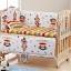 B10106 เตียงนอนไม้สำหรับเด็ก สามารถปรับเป็นโต๊ะเฟอร์นิเจอร์ได้ thumbnail 1