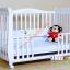 B10246 เตียงนอนไม้สำหรับเด็ก White Premium (WD4) thumbnail 5