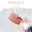 กระเป๋าใส่บัตร รุ่น PERFECT Card สีชมพู thumbnail 2