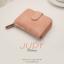 กระเป๋าสตางค์ผู้หญิง JUDY สีชมพูอ่อน thumbnail 6