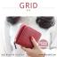 กระเป๋าสตางค์ผู้หญิง GRID สีเทาอ่อน thumbnail 9