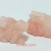 กระต่าย Rose quartz