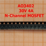 AO3402 30V N-Channel MOSFET