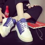 [Pre-Order]รองเท้าผ้าใบแฟชั่นผู้หญิง สไตล์เกาหลี size 35-40