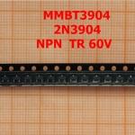 MMBT3904 2N3904 60V NPN TR