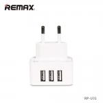 3USB Moon Power Adapter REMAX