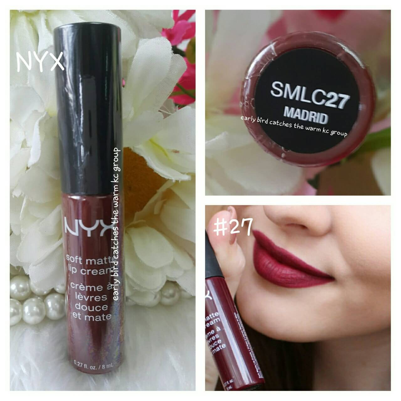 Nyx Soft Matte Lip Cream 27 Madrid Inspired By Lnwshop Com
