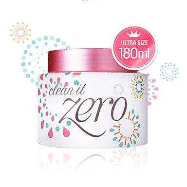 ++พร้อมส่ง++ Banila Co Clean It Zero (Ultra Size) 180ml ครีมทำความสะอาดผิวหน้า ที่อุดมไปด้วยสารสกัดจากมะละกอ อะเซโรล่า สมุนไพร ช่วยขจัดสิ่งสกปรก เมคอัพ กันน้ำ ส่วนประกอบของน้ำมันไม่ทำให้ผิวแห้ง เพียงนวดเบา แล้วล้างด้วยน้ำอุ่น