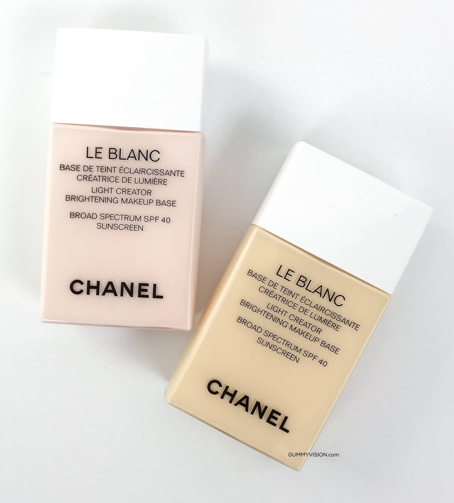 d78444c3587 Chanel Le Blanc Light Creator Brightening Makeup Base SPF 40 PA+++ ...