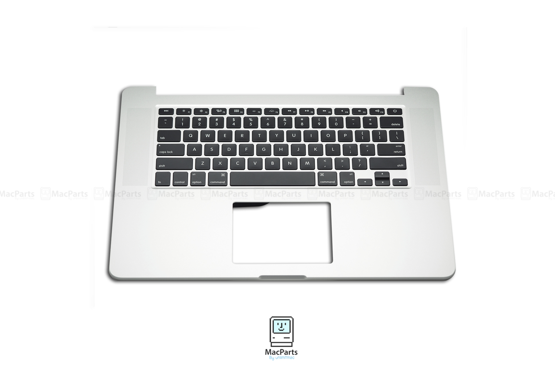 """661-02536 Top Case With Keyboard US For Macbook Pro Retina 15"""" Mid 2015 (No Battery,Trackpad)"""