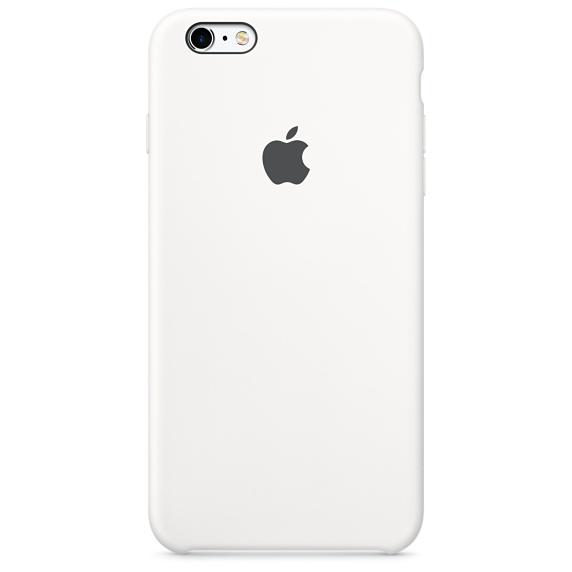 iPhone 6Plus,6SPlus Silicone Case -White , เคสซิลิโคน iPhone 6Plus,6SPlus - สีขาว