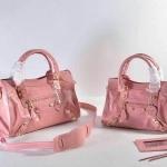 กระเป๋าหนังแท้ Balen Baby pink mini