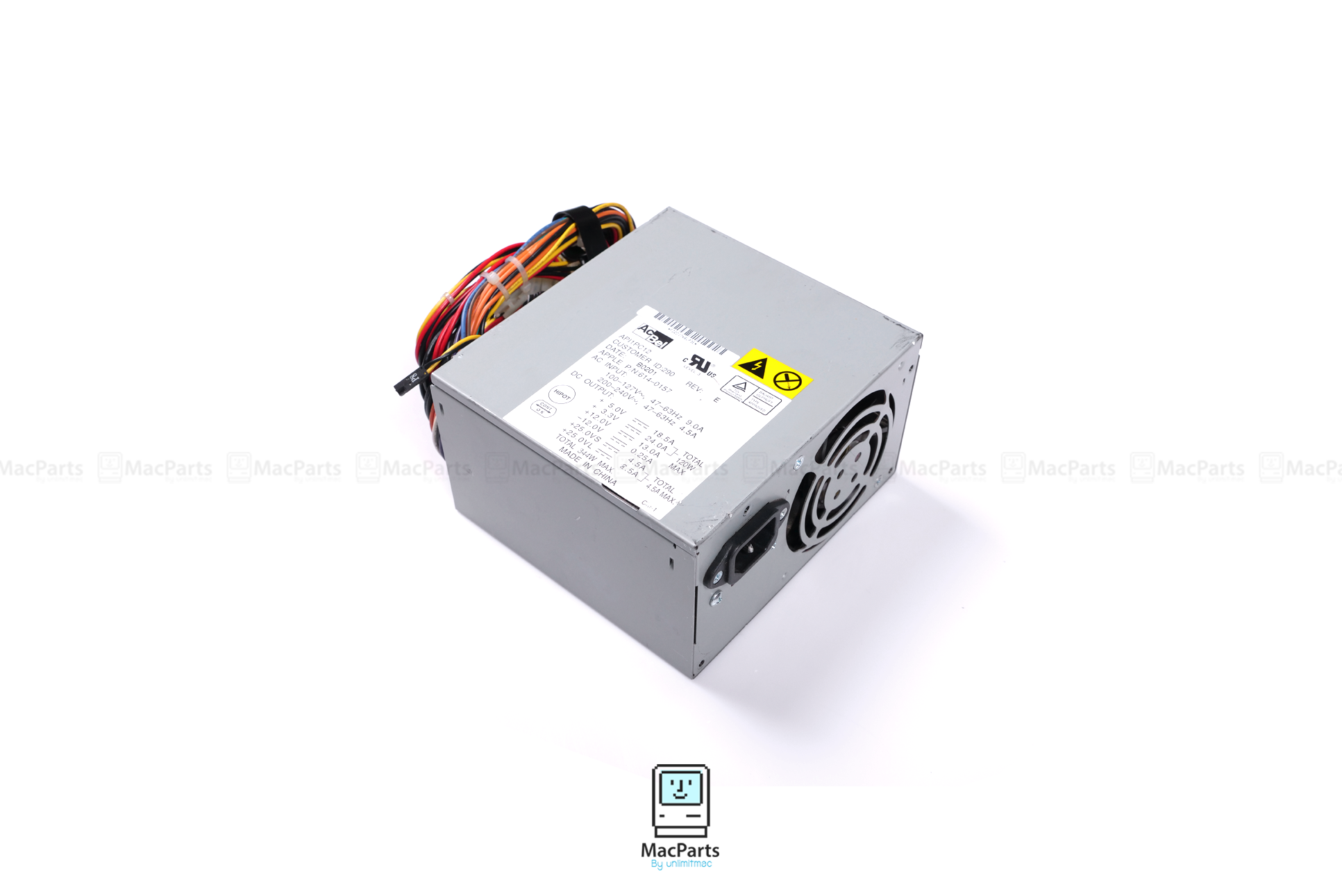 661-2514 Power Supply PowerMac G4 QuickSilver 340Watt