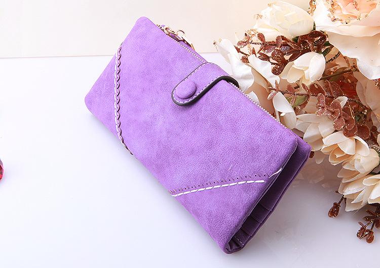 กระเป๋าหนัง PU รุ่น Lady Baby (Baby purple)
