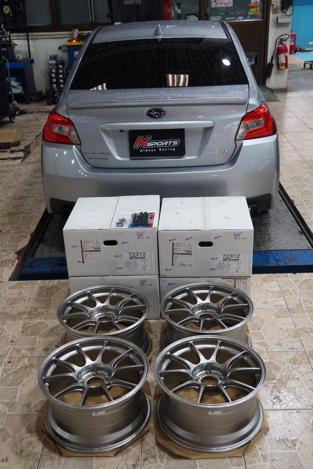 รีวิว Subaru WRX + ล้อ Wedssport TC105N 17x8.5+32 5-114.3