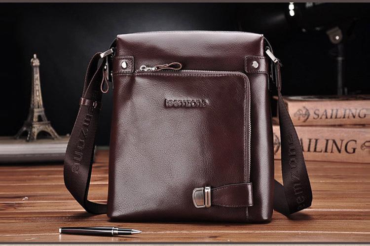 กระเป๋าหนังแท้ Teemzone coffee สำหรับคุณผู้ชาย