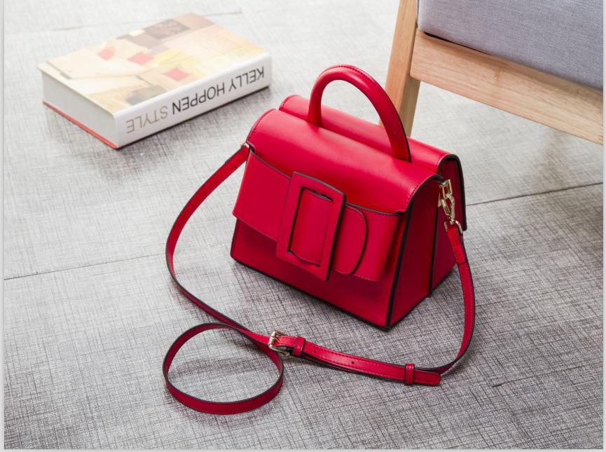 กระเป๋าหนังวัว Boyy Bags LUCAS (Red)