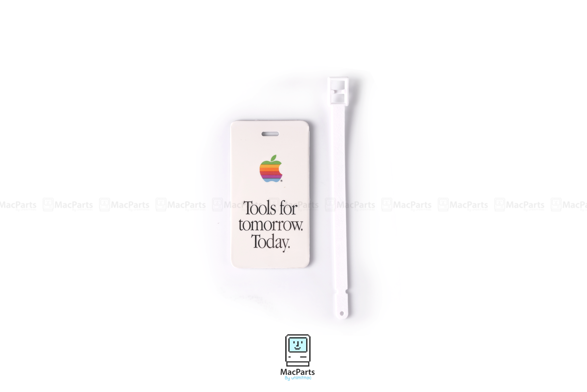 Apple Macintosh Computer Luggage Tag Tools For Tomorrow Today